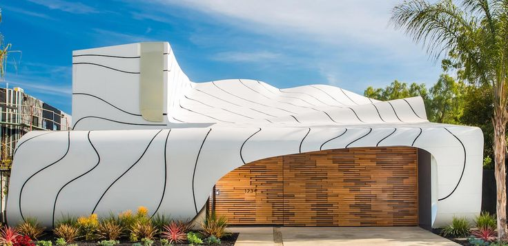Wave House by Mario Romano: a work of art inspired by the patterns of nature for a modern family - CAANdesign | Architecture and home design blog