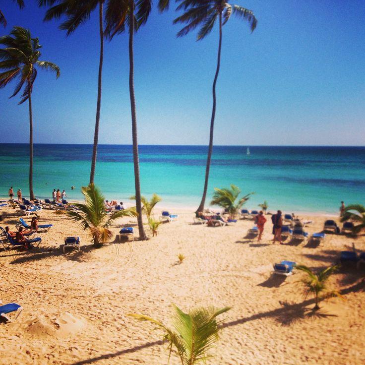Babaro beach, Dominican Republic..! @Caz and Craig @yTravelBlog