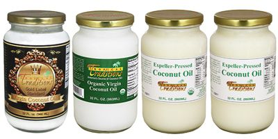 Coconut oil differences