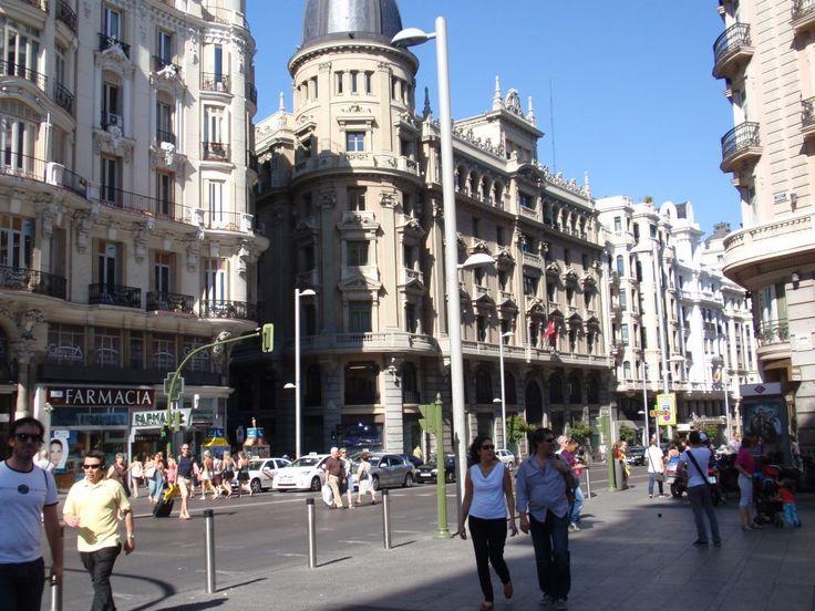 Гран Виа - главная улица Мадрида
