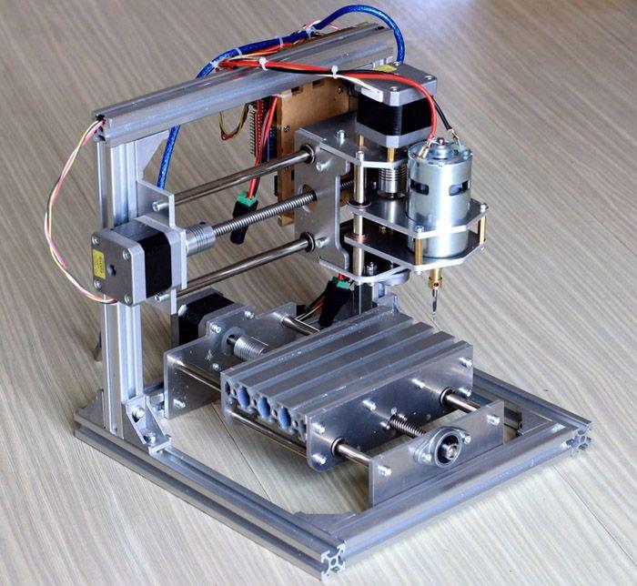 T8 bricolaje PCB CNC máquina de grabado 80W con 42 Motor paso a paso