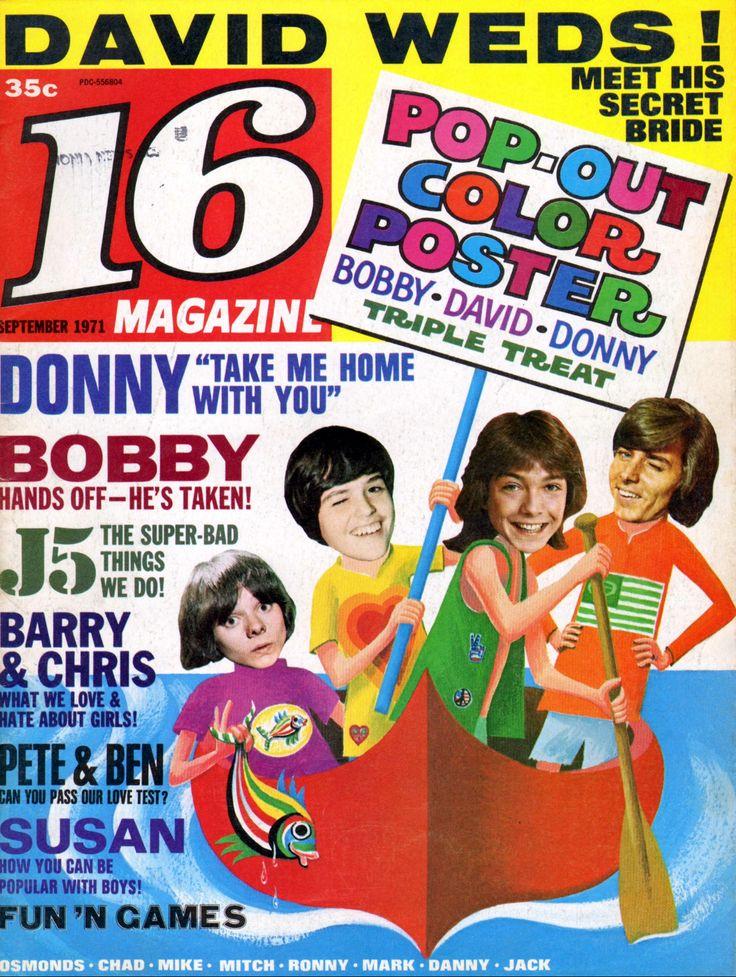 16 Magazine - September, 1971   16 Magazine Covers ...