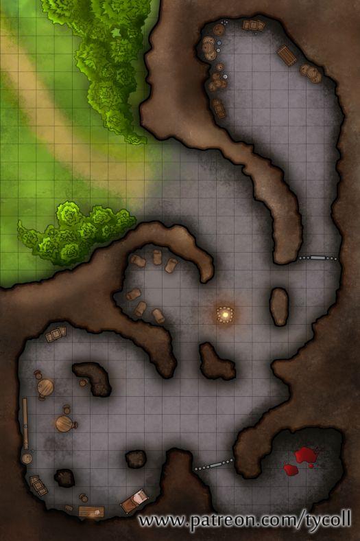 Bandit Lair Camp Battle Maps