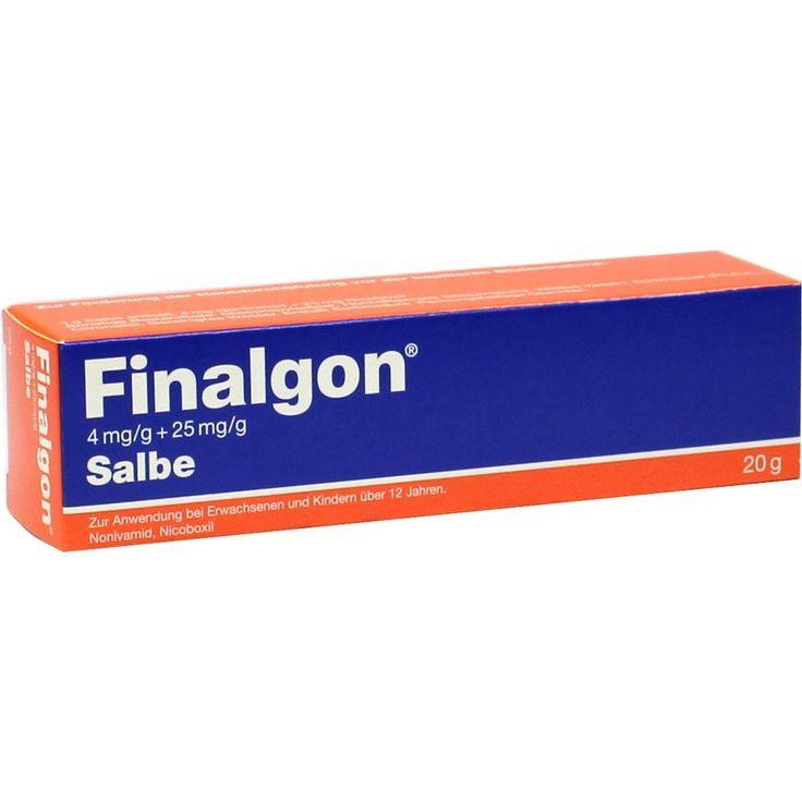 FINALGON 4 mg-g + 25 mg-g ointment:   Packungsinhalt: 20 g ointment PZN: 00145750 Hersteller: Boehringer Ingelheim Pharma GmbH & Co.KG…