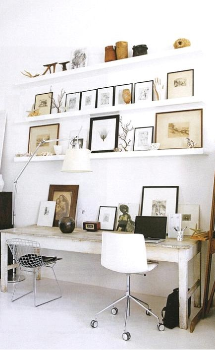 Saw this in Chatelaine - mixed white & black with natural elements