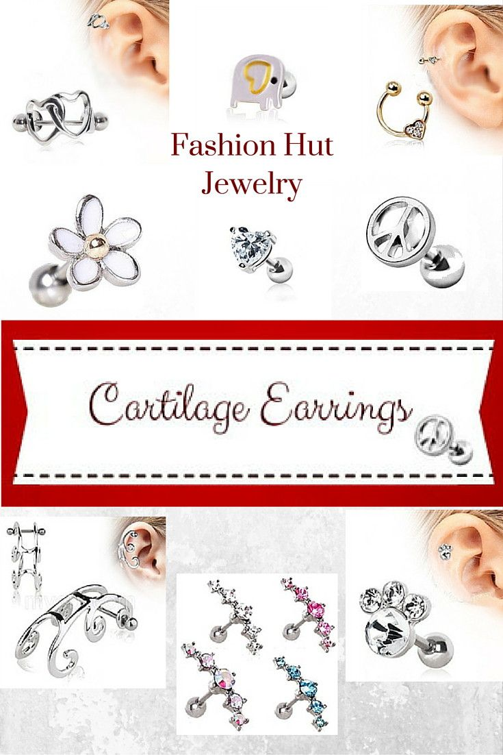 At The Fashion Hut We Have An Endless Variety Of Cartilage Earrings An  Array Of