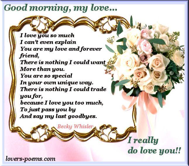 Good Morning, My Love... morning good morning morning quotes good morning quotes good morning greetings
