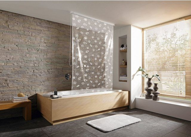 Duschrollo 134 X 240 Cm In 2020 Bathroom Blinds Bathroom Shower