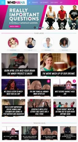 Elizabeth Banks Comedy Site WhoHaha Is Open for Business | From Creativity - AdAge