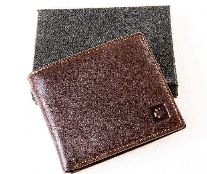 RFID Blocking Wallet, Genuine Leather. Get it on this week's deal. #weeklydeal #genuineleather #wallet #rfidBlocking