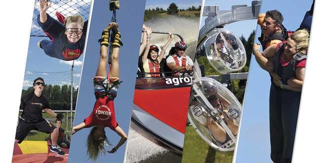 Well experience the thrill of body flying with freefall xtreme. Let the Freefall team guide you on the flight of your life. Source: http://www.backpackerdeals.com/new-zealand/rotorua/agrojet_rotorua_-_choose_5_activities_-_swoop__agrojet__freefall_xtreme__bungy_jump_and_shweeb
