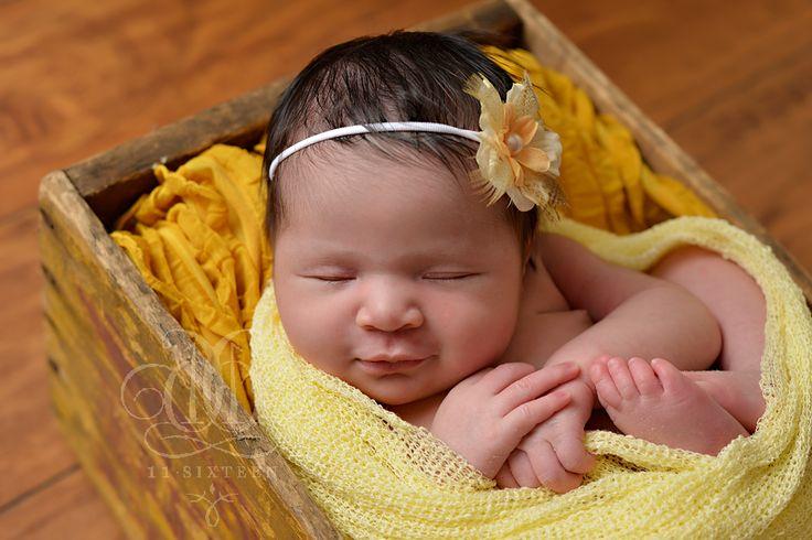 Baby Yellow Newborn Stretch Knit Wrap | Beautiful Photo Props