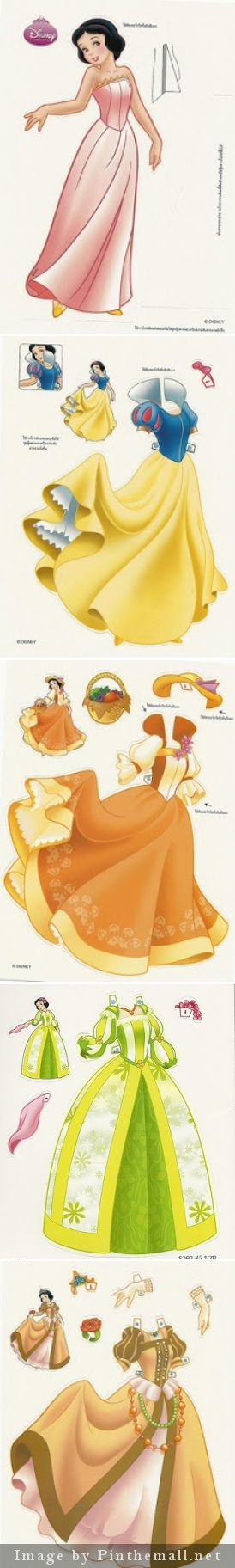 Foreign Disney Princess Dolls from Miss Missy Paper Dolls - So cute and so many! http://missmissypaperdolls.blogspot.ca - created via http://pinthemall.net