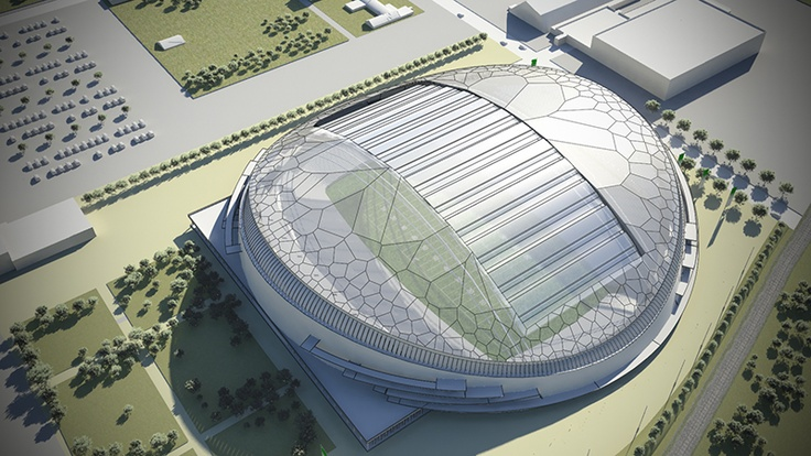Saskatchewan Roughriders   New Stadium Design