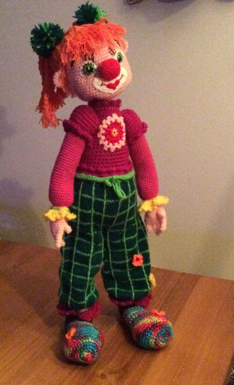 Clown, ja ook een meisje kan een clowntje zijn!