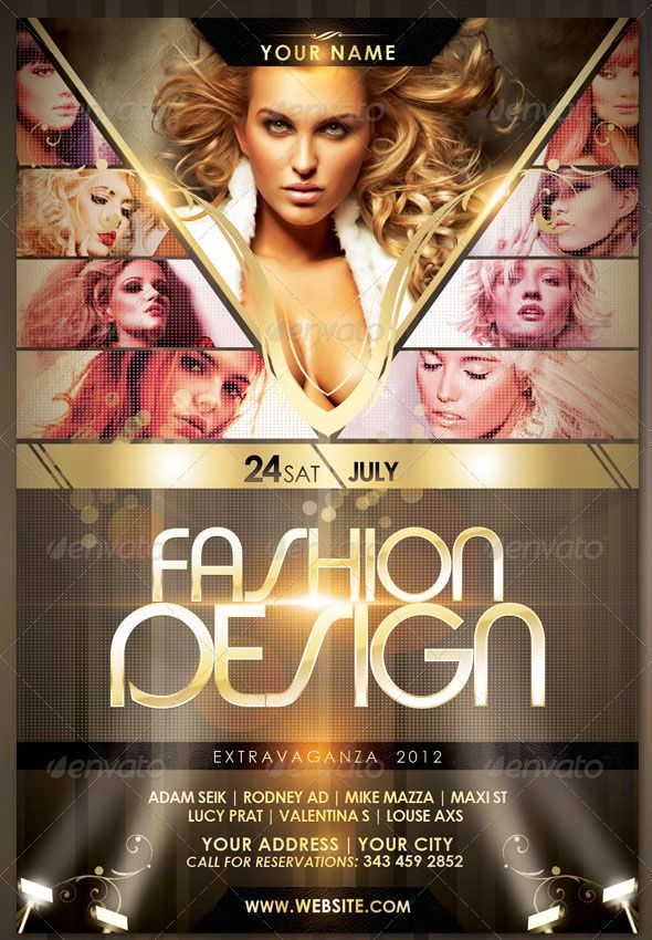 Search 100+ Best Fashion Show Flyer Template Designs