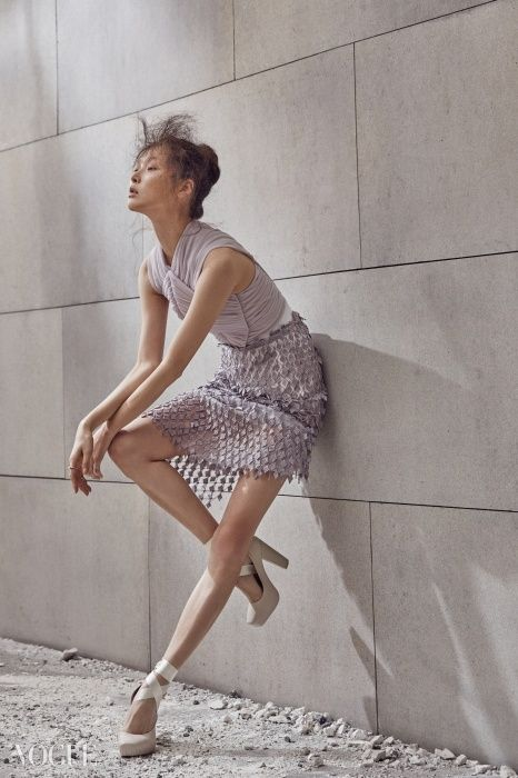 "Kin Sung Hee in ""The Ballet Fairy"" for Vogue Korea February 2015"