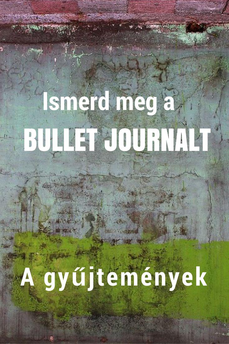 bullet journal | magyar ismertető | a gyűjtemények