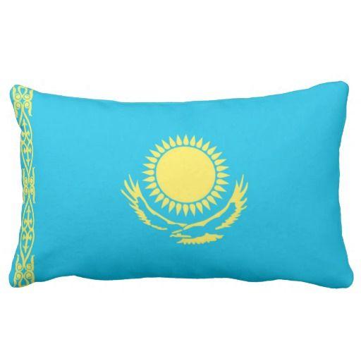 Flag Of Kazakhstan Pillows ORIGIN PILLOWS Pinterest ...