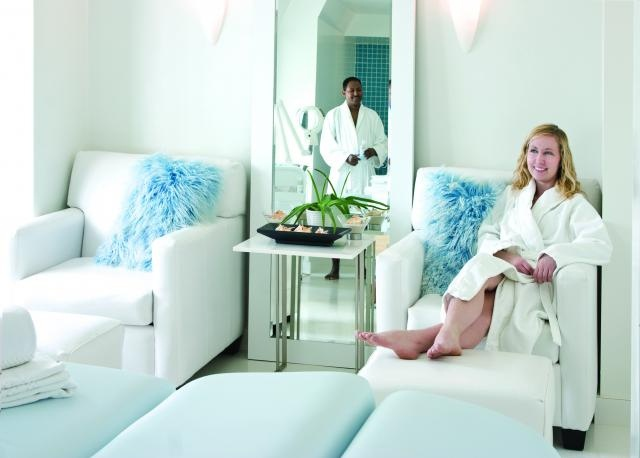 Relax and get pampered at Ten Spa in The Hotel Fort Garry.