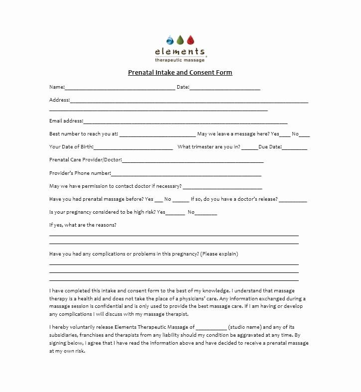 Massage Consent Form Template Best Of Top 6 Massage Consent Form Templates Free To In 2021 Massage Intake Forms Massage Therapy Business Cards Massage Therapy Business