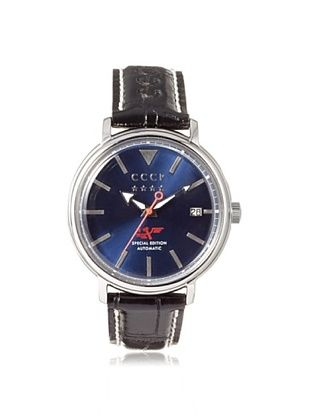 76% OFF CCCP Men's 7020-02 Heritage Black/Blue Stainless Steel Watch