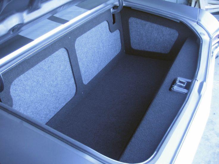 jean 39 s 68 chevelle paris france alien enclosures grey silver trunk panels walled off car. Black Bedroom Furniture Sets. Home Design Ideas