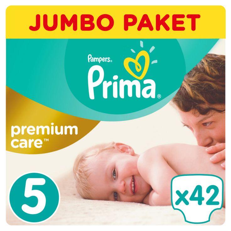 Prima Premium Care Bebek Bezi 5 Beden Jumbo Paket 42 Adet