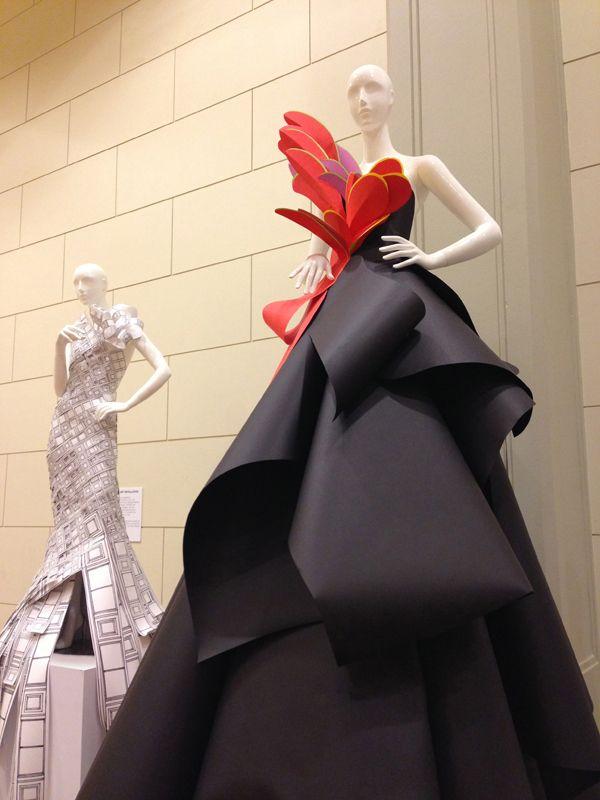 Dresses created by Benja Harney for David Jones 175th Anniversary