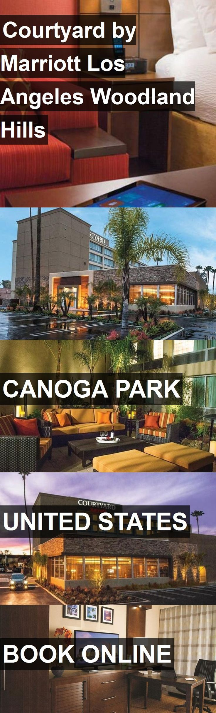 Hotel Courtyard by Marriott Los Angeles Woodland Hills in Canoga Park, United States. For more information, photos, reviews and best prices please follow the link. #UnitedStates #CanogaPark #travel #vacation #hotel