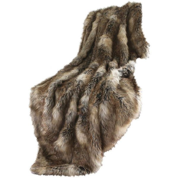 Wild Mannered Long Hair Faux Fur Throw Blanket - Southwestern - Throws... ❤ liked on Polyvore featuring home, bed & bath, bedding, blankets, faux fur throw, southwestern throw blanket, fake fur throw, faux fur throw blanket and faux fur bedding
