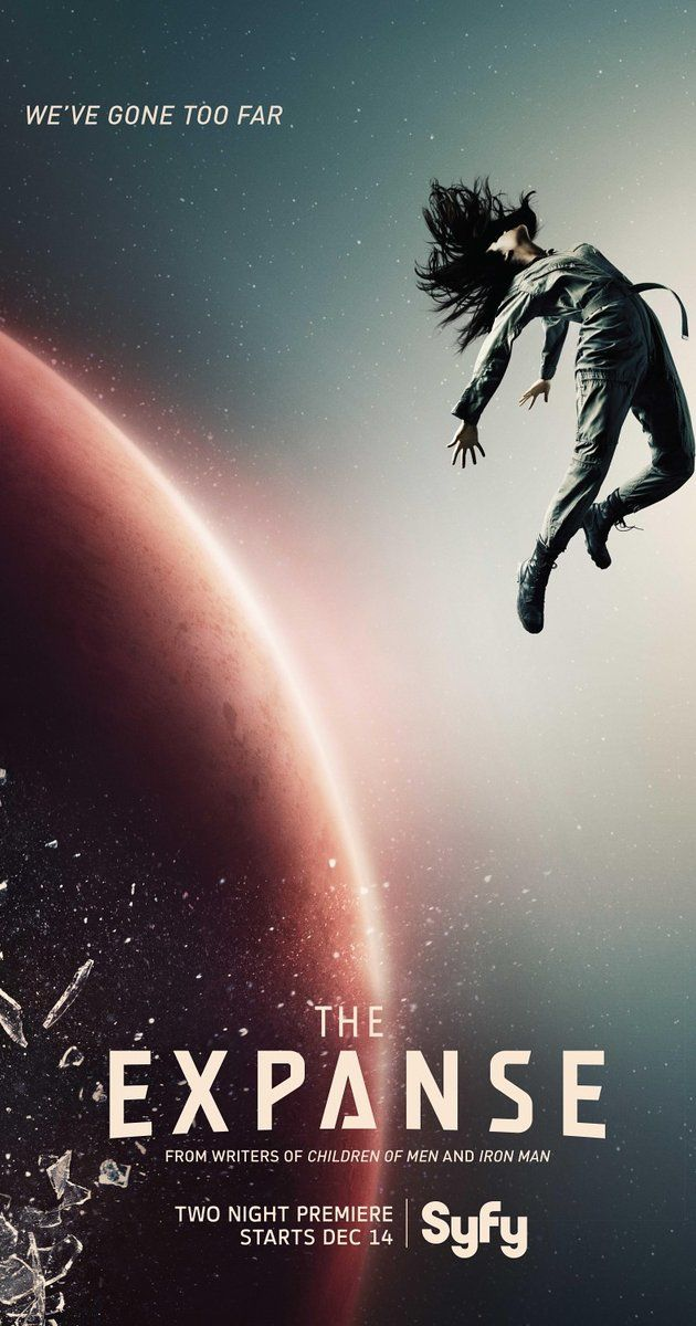 The Expanse - Syfy. More riveting than heartwarming-- but that's ok! Hoping they keep up the quality because Season 1 was amazing. :)
