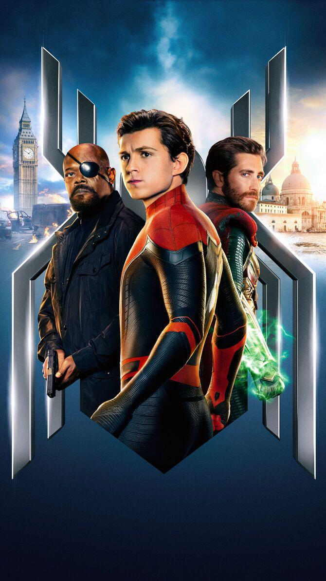 Spider Man Far From Home 2019 Phone Wallpaper Moviemania Spiderman Marvel Spiderman Amazing Spiderman