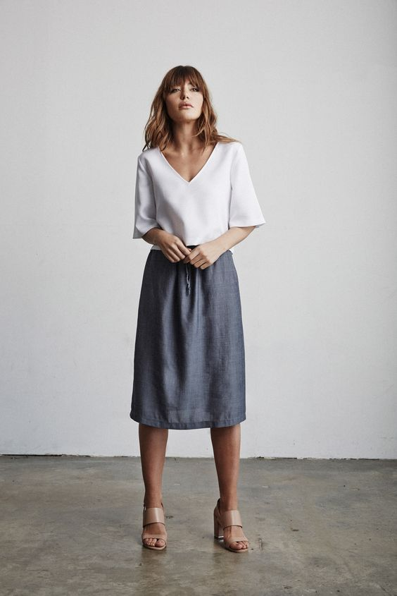 summer simplicity for your casual capsule wardrobe #style #ootd