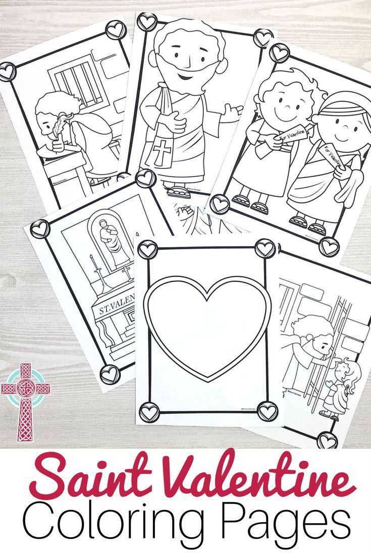 Saint Valentine Coloring Pages For Catholic Kids Catholic