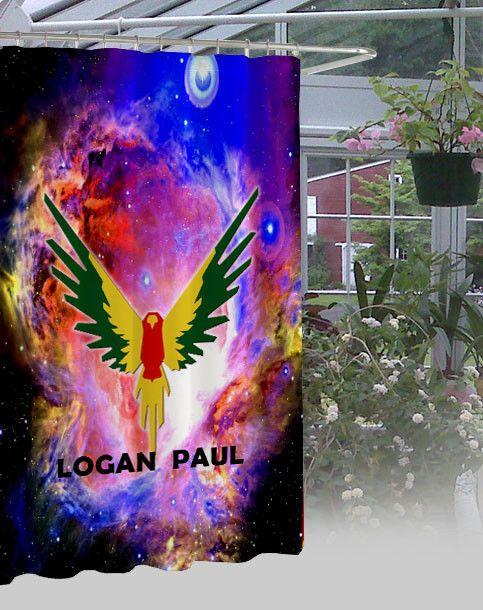 "Logan Paul Maverick Waterproof Bathroom High Quality Shower Curtain 60"" x 72"" #Unbranded #Modern"