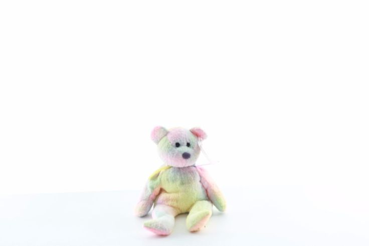 Ty Beanie baby bean bag plush stuffed animal Groovy Tye Dye teddy bear
