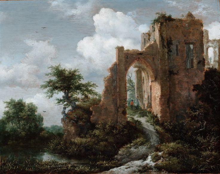 Jacob Isaacksz. van Ruisdael, Entrance Gate of the Castle of Brederode