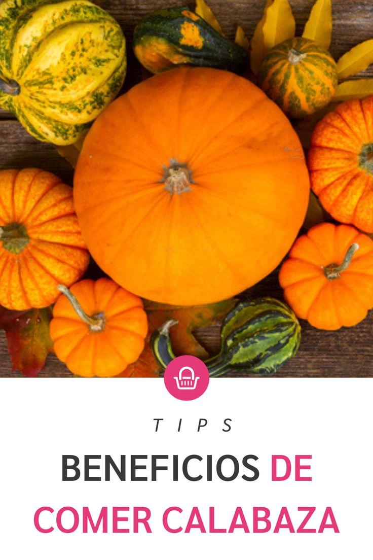 La calabaza no solo es un fruto típico del halloween, sino que también tiene beneficios para tu salud, ¡conócelos! Pumpkin, Vegetables, Halloween, Pink, Baskets, Wellness, Magick, Health, Plants