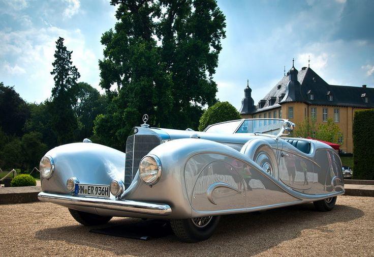 1936Mercedes-Benz 500K Streamline Roadster by Erdmann and Rossi