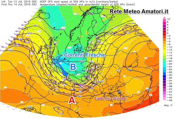 Il bel tempo e caldo che ci ha interessato in questi giorni ha le ore contate, un peggioramento già da oggi 12 Luglio porterà un'aumento dell'instabilità al Nord con fenomeni...
