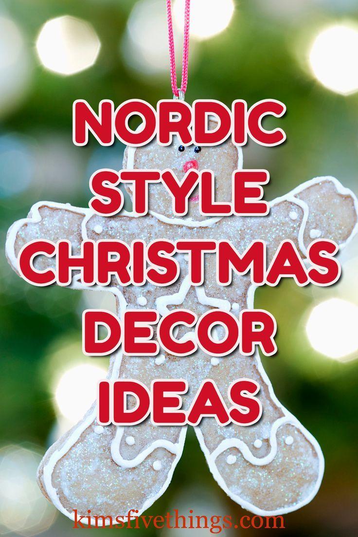 Swedish Christmas Goat 2020 Best Scandinavian Christmas Tree Decorations: Nordic Style