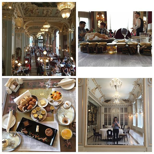 most beautiful café in the world #1894 #newyorkcafe #breakfast #budapest #hungary
