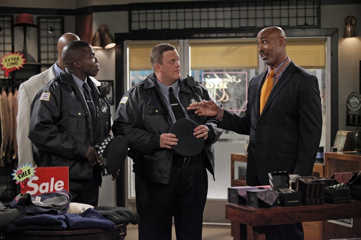 "Lamont Thompson, Reno Wilson, and Billy Gardell in Mike & Molly from ""Mike Likes..."