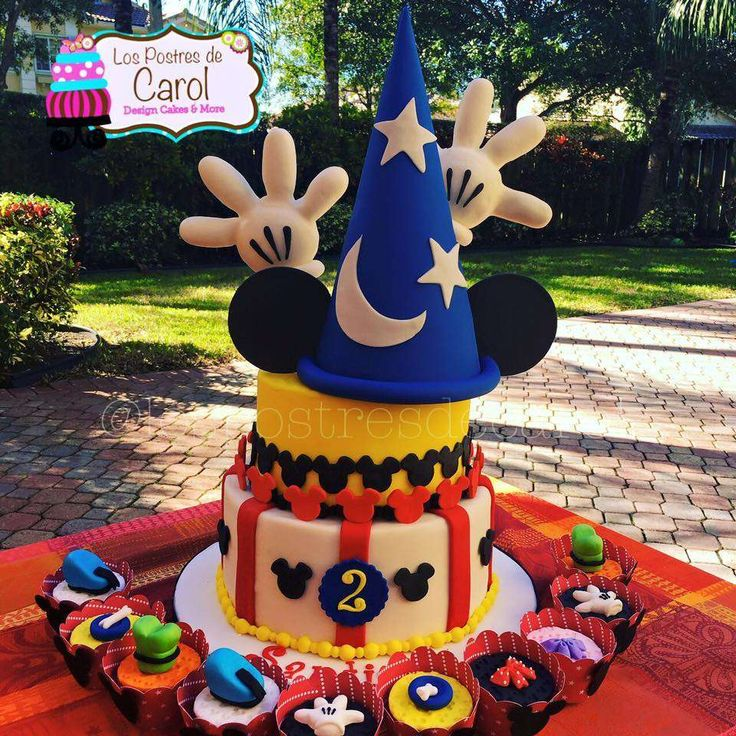 Mickey Mouse Pops Cake