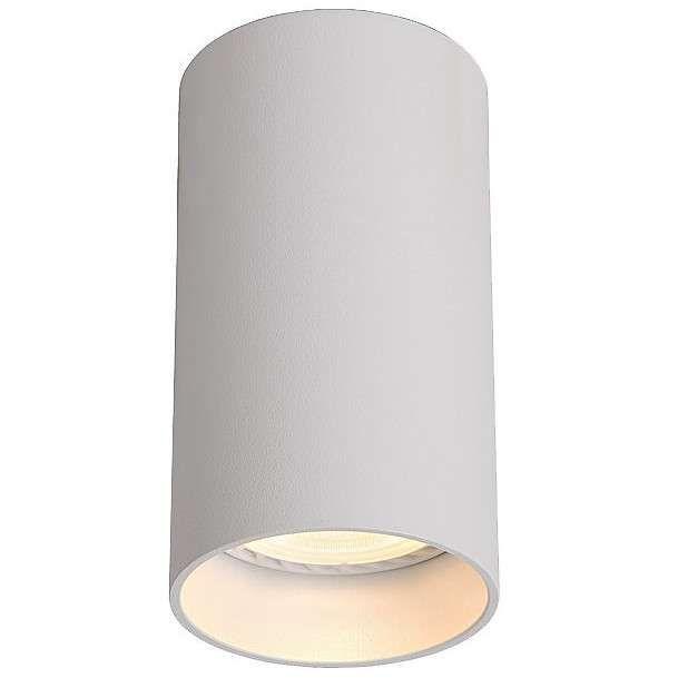 Spot LAMPA sufitowa DARIA ROUND 1W/W INQ okrągła OPRAWA natynkowa downlight tuba biała