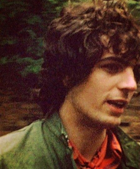El talentoso Syd Barrrett miembro original de Pink Floyd.