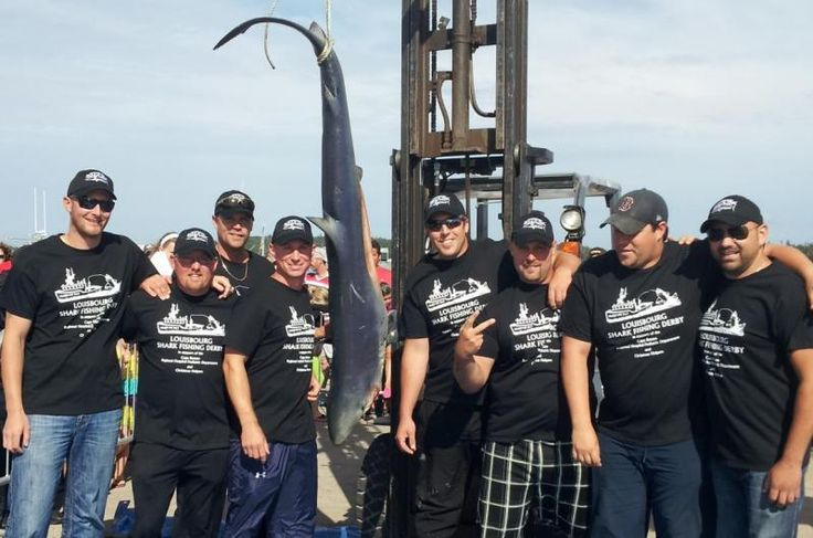 "4th Annual ""Mako My Day!"" Louisbourg Shark Fishing Derby   novascotia.com"