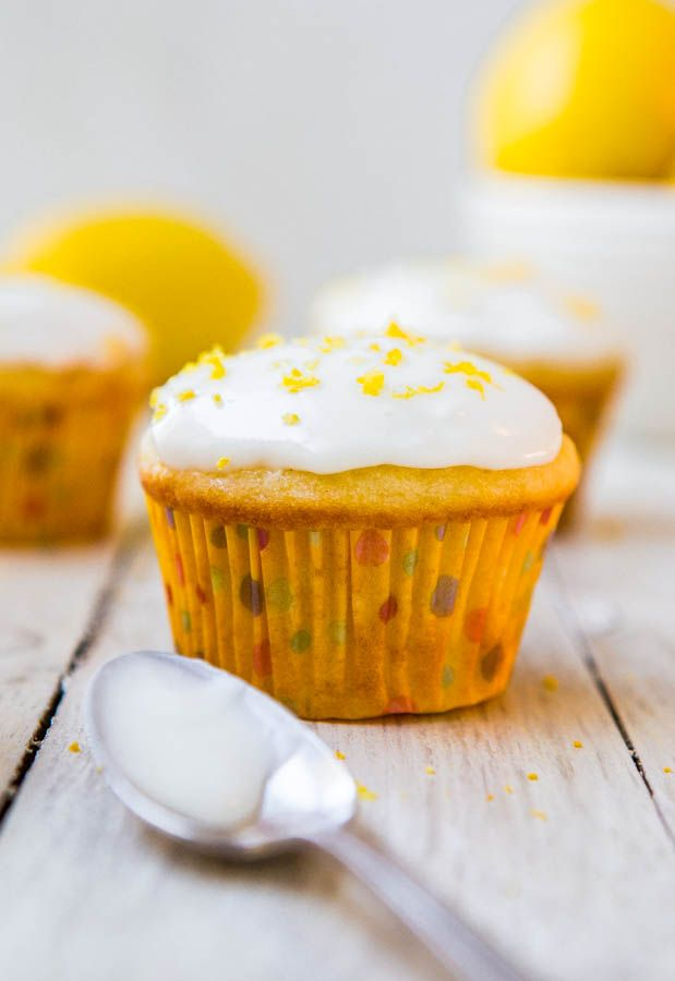 I had so many lemons in my crisper drawer and needed to find a way to use lots of them up at once. Lemon cupcakes with lemon frosting was the answer. Lemon seems to be one of those ingredients that when people like it, they really like it. They're super into it and have recipes …