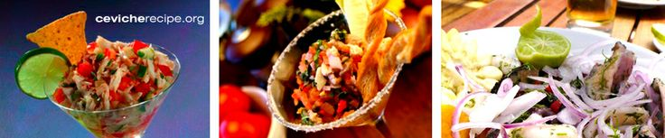 Ceviche Recipes from Around the World...Check out the Mexican one..Close to Mayport's recipe..adapt from there..
